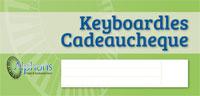Keyboardles cadeaucheque bij Keyboardschool.nl in Zoetermeer